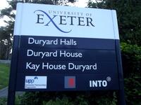 Exeter acupuncturist: Duryard Halls.