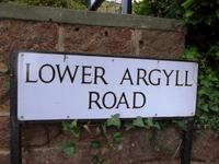 Lower Argyll Road.