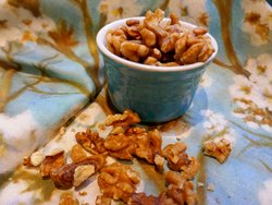 Walnuts and gut biome and heart health.