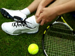 Racquet sports are fast and fun, but can lead to sprains and strains.