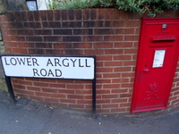 Exeter acupuncturist: Lower Argyll Road from the north.