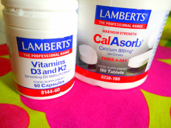 To improve bone density in postmenopausal women, calcium and vitamin D are important alongside collagen peptides.