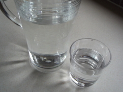 Whilst considering acupuncture for tiredness, do you manage the recommended two litres of water per day?